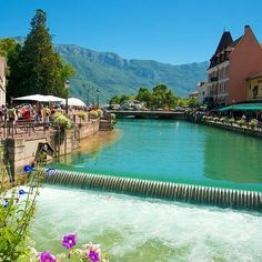 Annecy and its Lake | La vieille ville #annecy #annecylake #france #tott #town #lake #lac #beautiful #veilleville #riviere #rhonealpes #alpes #oldtown #montagnes #mountains #oldtownannecy #lacdannecy #summer2016 #summer #thiou #hautesavoie #boat #tree #relax