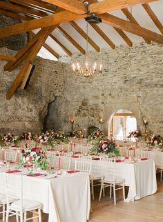 Red and green don't necessarily top my list of favorite wedding colors ever, but this European castle wedding is proving me wrong in the very best way. Set in theSlovak mountains, it's an affairdrenched in lavish greenery and vibrant hues byMoruska Design, andPeter & Veronika Photographyworked their magic behind the lens. Go ahead and consider […]