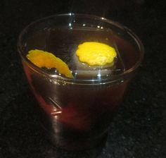 Cocktail Virgin | Black Betty: 1 oz Dark Rum (Coruba) 1 oz Amaro Montenegro 1 oz Fernet Branca 1/2 oz Lustau Pedro Ximenez Sherry  Stir with ice and strain into a rocks glass with ice. Garnish with a flamed orange twist (no flame).