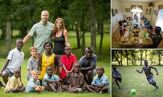 Hayley and Mike Jones founded an orphanage in war-ravaged Sierra Leone. The couple thought they would adopt two or three children during their visit However, the eight siblings aged between five and 16 stole their hearts. The couple crowdfunded almost £10,000 in donations to extend their home. Locals even donated bunk beds and clothes for the massive family.