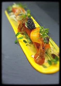 Crustacean-Carrot Textures; Noel Ng - The ChefsTalk Project