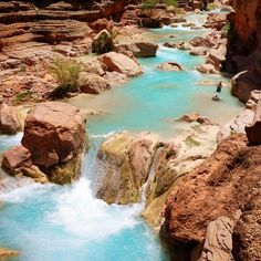 Main Havasupai Campground Rangers Office, Supai, Arizona — by Bernini. Take the hike from Havasupai to the Colorado River. It's an extra 16 miles of hiking round trip but wading in the...