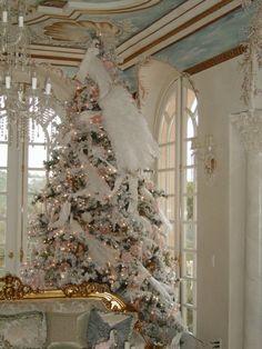 sapin de Noël vintage luxueux                                                                                                                                                                                 Plus