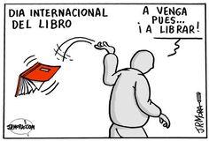 Día del Libro (23/04/2012) por JR. Mora