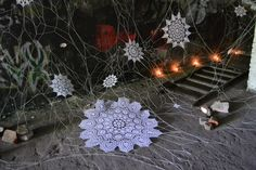 Artist Transforms Stuffy Old Lace Into Fantastic Street Art (Photos) : TreeHugger