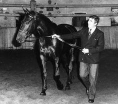 Les chevaux de sports - Jappeloup de Luze - Jappeloup avec Henry Delage son propriétaire