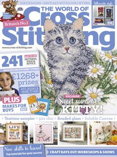 Get a FREE issue of The World of Cross Stitching. Download the app from iTunes