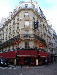 Our apartment we'll be staying at in Paris