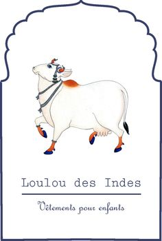 Loulou des Indes logo Cow Painting, China Painting, Fabric Painting, Pichwai Paintings, Indian Paintings, Mughal Paintings, Lotus Artwork, Indian Traditional Paintings, Indian Folk Art