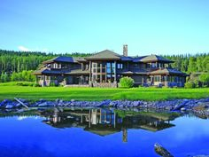 My lake house on my private island in Whitefish, Montana