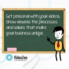 Video creation tip