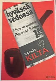 Kuvahaun tulos haulle kilta tupakka Retro Ads, Retro Vintage, Vintage Stuff, Old Commercials, Good Old Times, Old Ads, Finland, Nostalgia, Old Things