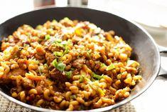 Wok macaroni met kip | Kookmutsjes