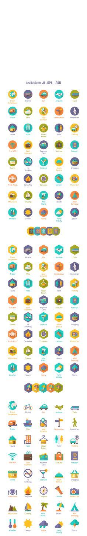 https://www.behance.net/gallery/16055993/Shady-I-Con-Travel-Flat-Icons