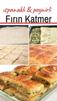 Turkish Breakfast, Turkish Kitchen, Wie Macht Man, Spinach And Cheese, Breakfast Items, Turkish Recipes, Cheese Recipes, Bakery, Food And Drink