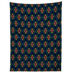 Arcturus Sapphire Tapestry | DENY Designs Home Accessories