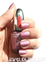 Pupa 037 Holographic Pink #makeup #trucco #smalto #nail #nails #nailart #nailpolish #review #beauty #beautyblogger #nailmania