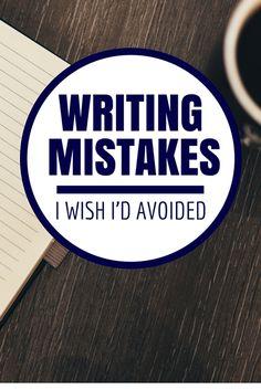 Writing Mistakes I Wish I'd Avoided https://ift.tt/2J96ebR https://ift.tt/2IQn147 #writing #publishing #reading #literature