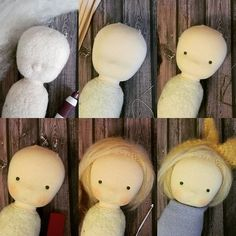 Just wanted to share a bit of my doll sewing process. This is Chloe. Just some…
