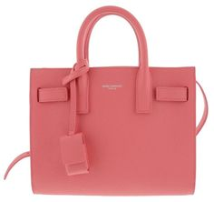 Saint Laurent Nano Sac De Jour Grained Leather Rose Tote Bag. Get one of the 6cde443e01