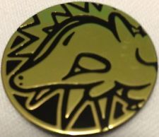 Pokemon Gold Cyndaquil Collectable Coin (Coin #123/162)