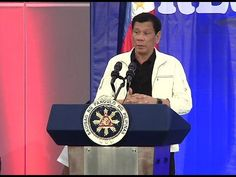 Pres. Duterte urges local chief executives to help him or else he will declare martial law - WATCH VIDEO HERE -> http://dutertenewstoday.com/pres-duterte-urges-local-chief-executives-to-help-him-or-else-he-will-declare-martial-law/   President Rodrigo Duterte urges local chief executives to help him fight terrorism or else he will declare martial law. Victor Cosare will tell us why. For more videos: For News Update, visit:  Check out our official social media accounts: Insta