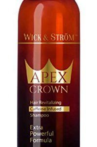 Premium-Anti-Hair-Loss-Shampoo-Wick-Strm-NO-Minoxidil-Caffeine-Biotin-Saw-Palmet… - Modern Anti Hair Loss Shampoo, Biotin Hair Growth, Aloe Leaf, Crown Hairstyles, Caffeine, Whiskey Bottle, Wicked, Modern, Trendy Tree