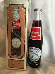 Vintage1985 Coca Cola Coke Bottle Hoover Dam Golden Anniversary With Box MIB #CocaCola
