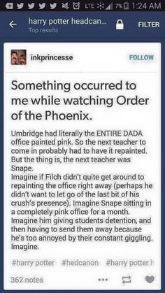Except that Snape kept his office in the dungeon and Slughorn got the DADA office...