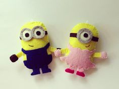 Minion Couple Despicable Me Keychain Plushie Legazpi - Chicanda | Philippines handmade classified ads and marketplace