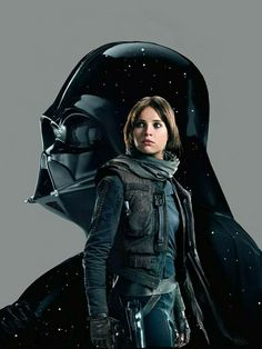 Rogue One: A Star Wars Story (Jyn Erso & Darth Vader)