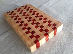 Image result for end grain cutting board walnut cherry