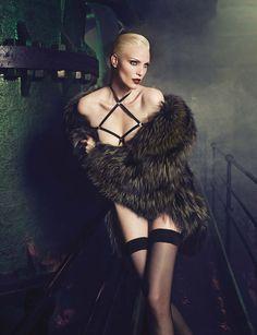 Photo Nadja Auermann by Luigi & Iango for Vogue Germany November 2014