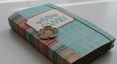 Beautiful, versatile paperbag minialbum by Silke
