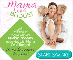 Join Mamaonabudget and Get Free Coupons, Advice and More!
