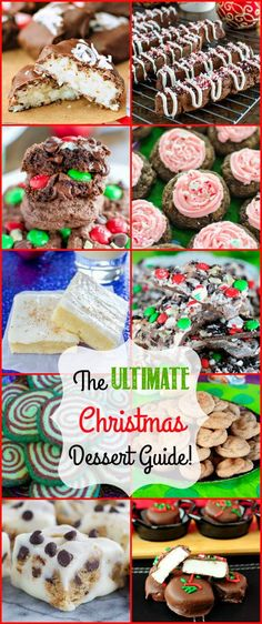 The ULTIMATE Christmas Dessert Guide! Cookies, Candy, Fudge and More!
