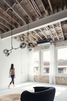 Karen Abernethy creates multi-sensory yoga studio in converted Sydney warehouse