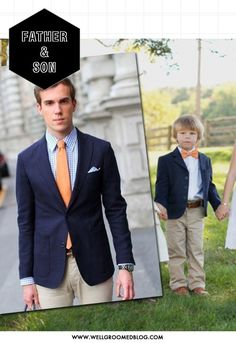 c9fb48d3 DINNER MR JAMES Father Son Matching Outfits, Pai, Father And Son, Wedding  Makeup