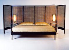 Kenneth Cobonpue SUZY WONG Hi-Back Bed designed by Kenneth Cobonpue