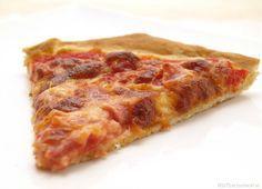 Pizza de jamón y queso - MisThermorecetas.com