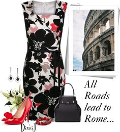 """""""All Roads Lead to Rome..."""" by dimij on Polyvore"""