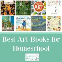 Books for Art Appreciation and Artist Study - Lextin Eclectic Artists For Kids, Great Artists, Best Art Books, Magical Tree, Messy Art, Interactive Stories, Great Paintings, Chapter Books, Book Themes