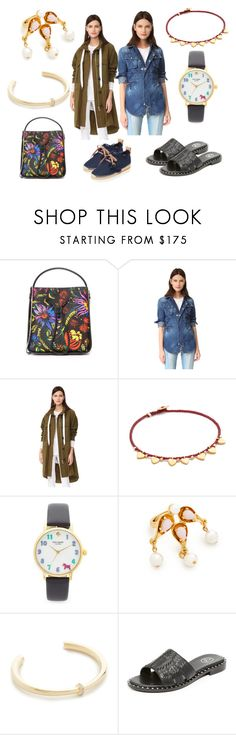 """""""California casuals"""" by monica022 ❤ liked on Polyvore featuring 3.1 Phillip Lim, Dsquared2, rag & bone, Scosha, Kate Spade, Oscar de la Renta, Elizabeth and James, Ash, See by Chloé and vintage"""