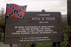 Picacho-Battle of Picacho Marker - Battle of Picacho Pass - Wikipedia, the free encyclopedia