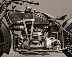 1929 Indian Ace with side shifter.