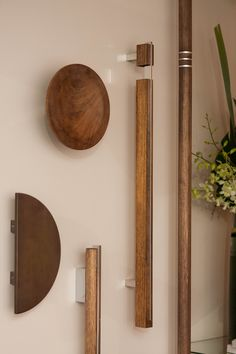 Strong, natural and sturdy, Designer Doorware Timber Collection offers an organic appeal to any door.