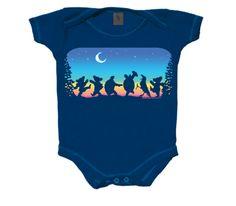 New Authentic Grateful Dead Moondance Infant Snapsuit Bodysuit