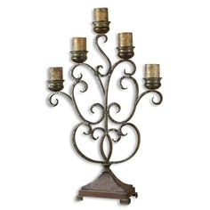 The Uttermost Company Juliana, Candelabra