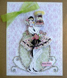 Frou Frou Birthday Card Set - Kanban Crafts
