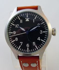 TICINO 44mm Automatic Pilot Watch Type A Dial